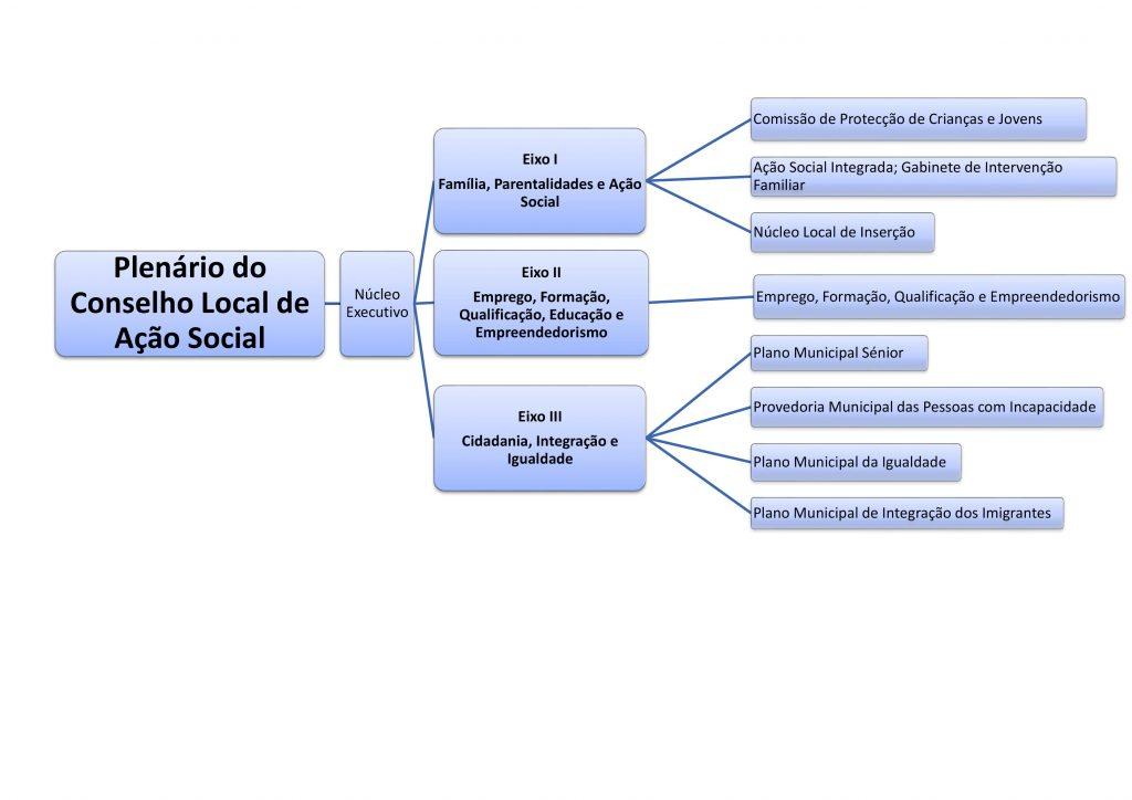 Organização da Rede Social