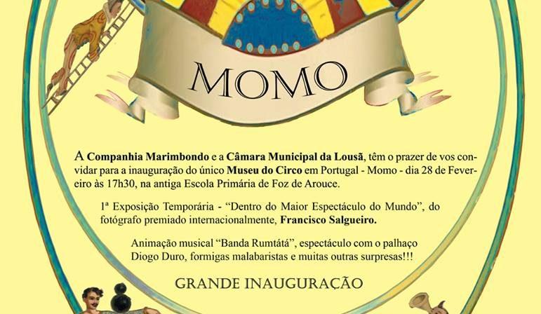 Inauguração do Museu do Circo
