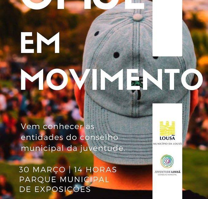 """Conselho Municipal de Juventude da Lousã promove iniciativa """"CMJL em Movimento"""""""