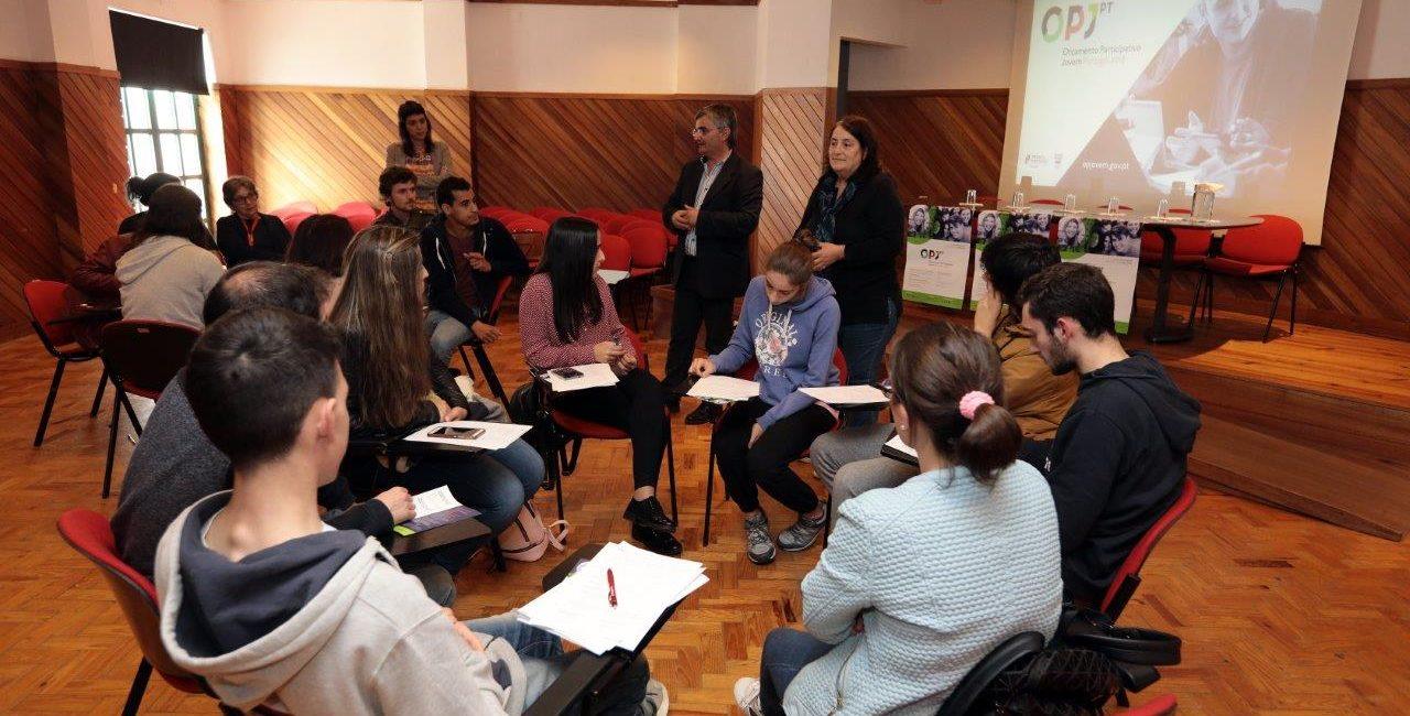 Orçamento Participativo Jovem de Portugal esteve ontem na Lousã