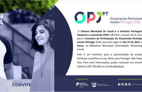 Sessão do Orçamento Participativo Jovem de Portugal na Lousã