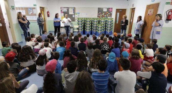 Município entrega 321 Ecopontos a alunos do 1.º Ciclo do Concelho