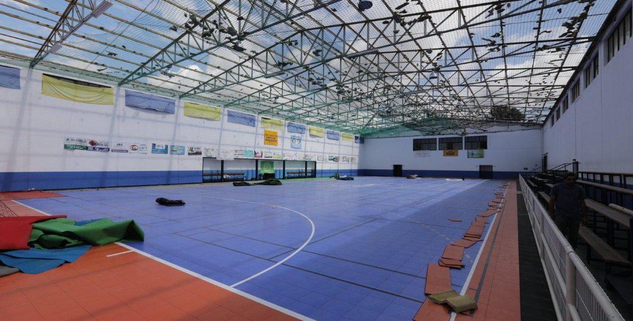 Executivo Municipal aprova apoia financeiro para a instalação de nova cobertura no Pavilhão Gimnodesportivo de Serpins