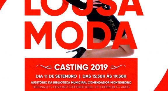 """""""Lousã Moda 2019"""" – Casting terá lugar a 11 de setembro"""