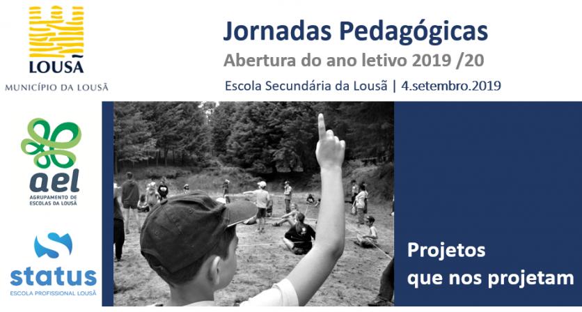 """Jornadas pedagógicas """"Projetos que nos Projetam"""" marcam início do ano letivo"""
