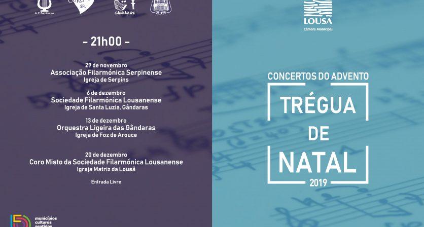 Concerto do Advento -  Sociedade Filarmónica Lousanense