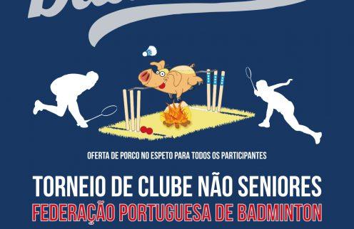 Badmington – Torneio de Clubes Não Séniores