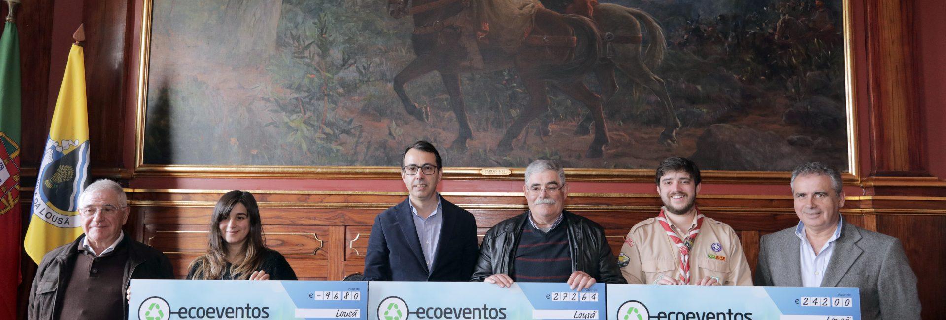 Autarquia e ERSUC entregam donativos a três entidades do Concelho
