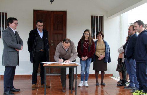 Protocolo com a Comissão da Capela da Lomba de Alveite