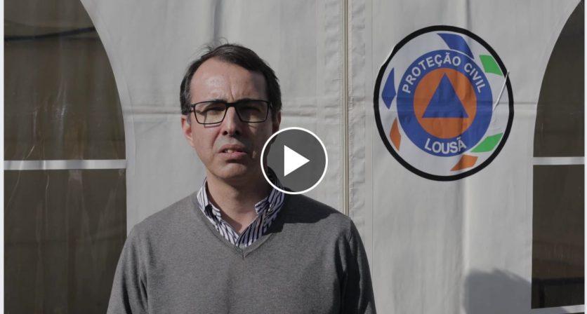 Mensagem do Presidente da Câmara Municipal, Luis Antunes – 28/03/2020