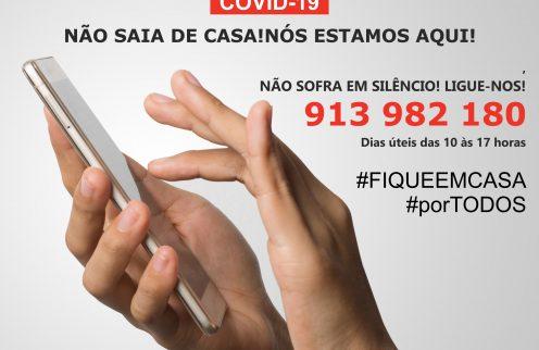 LINHA DE APOIO PSICOLÓGICO – COVID-19
