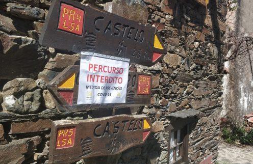 COVID-19 – Encerramento dos Percursos Pedestres da Serra da Lousã