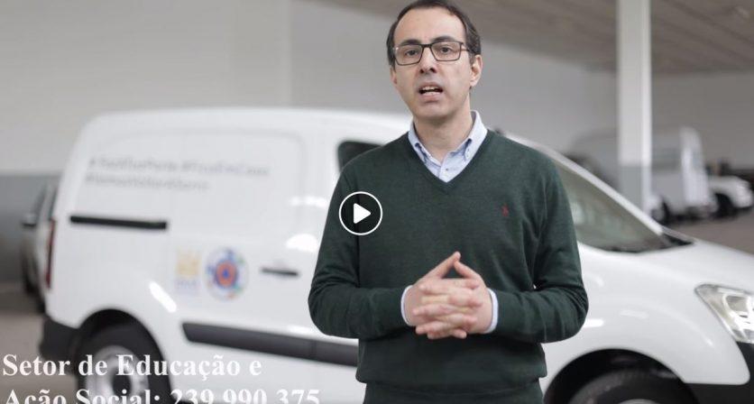 04/04/2020 – O Presidente da Câmara Municipal, Luís Antunes fez hoje o ponto de situação sobre esta pandemia no Concelho