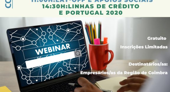 Comunidade Intermunicipal promove workshops online sobre as medidas de apoio às empresas – COVID-19