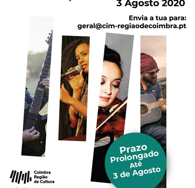 Convocatória aberta – Coimbra Região de Cultura