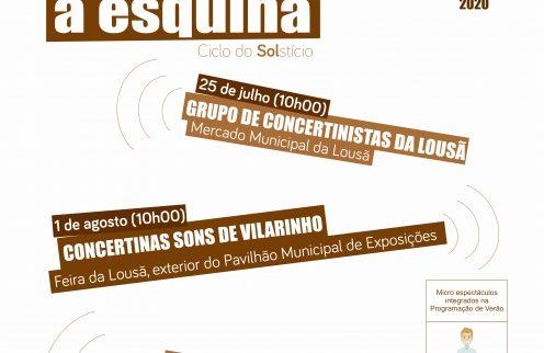 """""""Encontros à Esquina"""" – Atuação do grupo Concertinas de Vilarinho"""