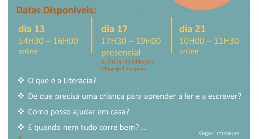 Equipa Multidisciplinar do município da Lousã dinamiza sessões para Famílias no âmbito do projeto de Literacia Emergente