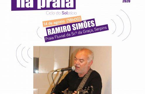 """""""Encontros nas Praias"""" – Animação com Ramiro Simões."""
