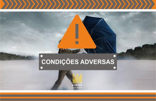 Condições meteorológicas adversas – 18/09/2020