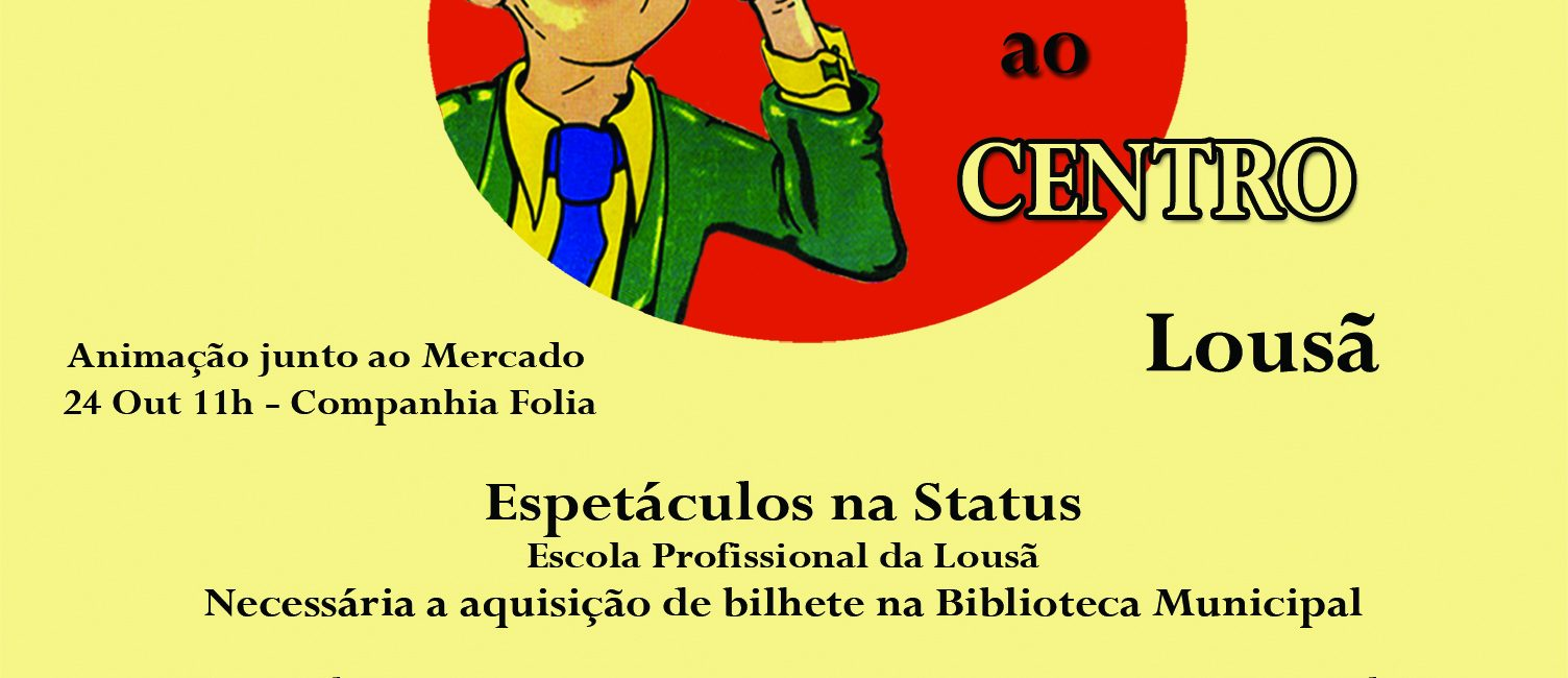 "Festival ""Marionetas ao Centro"" inicia no dia 24 de outubro."