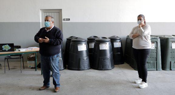 Autarquia continua a apostar no projeto de compostagem doméstica.