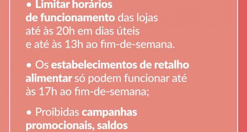 Confinamento - Novas medidas anunciadas hoje pelo Primeiro Ministro, António Costa. 6