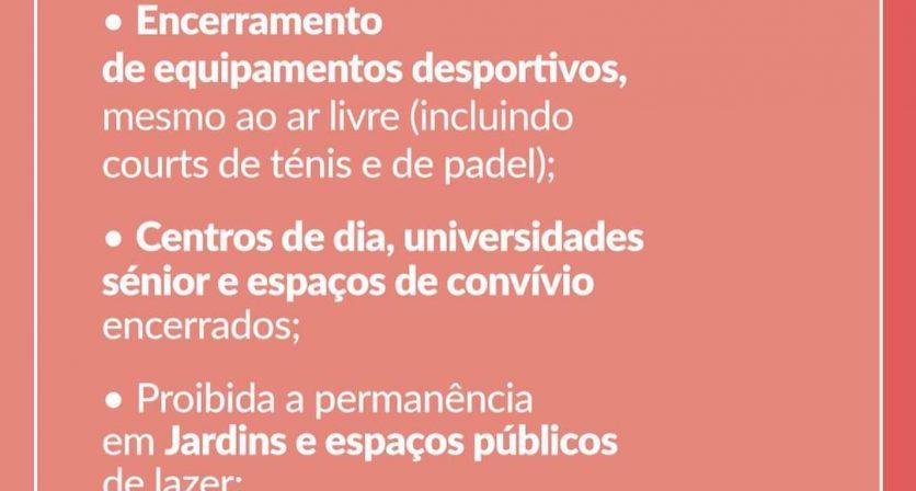 Confinamento - Novas medidas anunciadas hoje pelo Primeiro Ministro, António Costa. 7