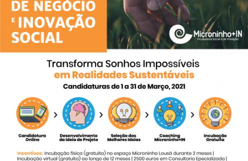 """""""ComSentido"""" – Concurso de Ideias de negócio e inovação social."""