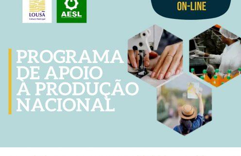 Sessão de esclarecimento sobre o PAPN – Programa de Apoio à Produção Nacional.
