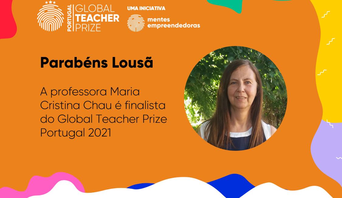 Professora da Lousã entre os 10 finalistas do Global Teacher Prize Portugal 2021.