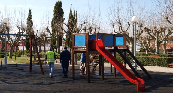 Informação – Equipamento infantil do Parque Carlos Reis encerrado entre os dias 14 e 24 de junho.