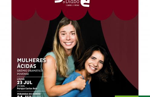 "Teatro ""Mulheres Ácidas"""