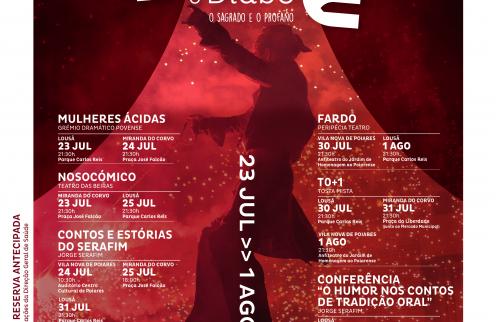 """Festival Artes do Diabo """"Entre Deus e o Diabo – o Sagrado e o Profano"""""""
