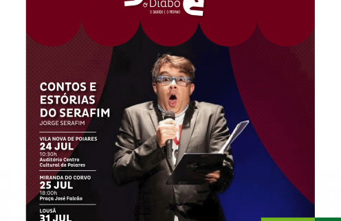 Festival Artes do Diabo – Contos e Histórias do Serafim – Com Jorge Serafim