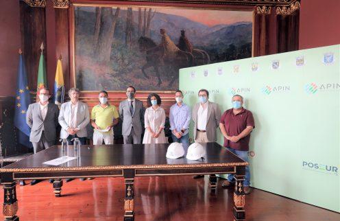 Assinado contrato para empreitada de extensão da rede de abastecimento de água à freguesia de Serpins.