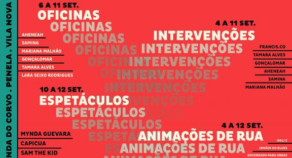 Artes conquistam as ruas da Lousã, Miranda do Corvo e Vila Nova de Poiares no âmbito da Rede Cultural Terras da Chanfana.