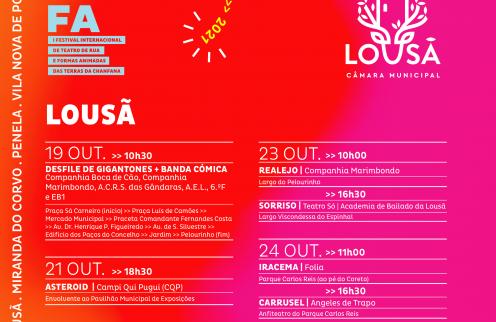 I Festival Internacional de Teatro de Rua e Formas Animadas (Fitrufa).